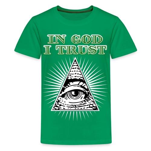In God I Trust - Kids' Premium T-Shirt