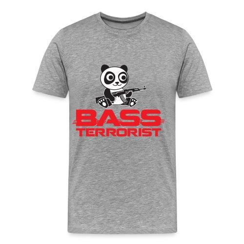 Bass Terrorist Original Logo Edition - Men's Premium T-Shirt