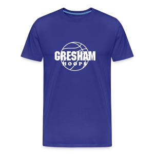 Men's Gresham Hoops shirt - Men's Premium T-Shirt
