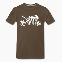 Fossil skeleton motorcycle Shirt