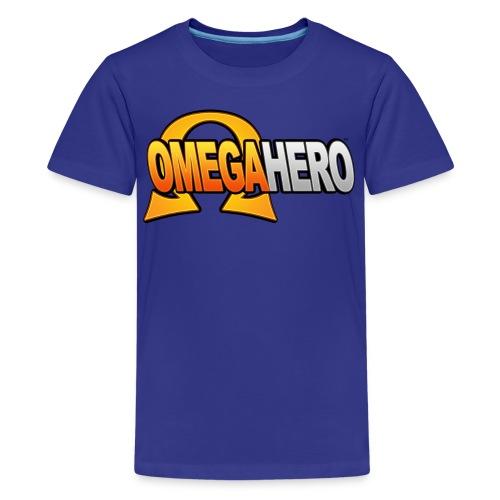 Omega Hero Logo (Kids) - Kids' Premium T-Shirt