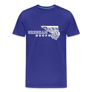 Men's Gresham Hoops with Net tee - Men's Premium T-Shirt