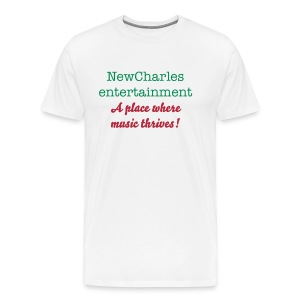 NewCharles Entertainment where music thrives - Men's Premium T-Shirt