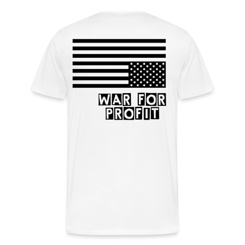 LS WAR FOR PROFIT  - Men's Premium T-Shirt