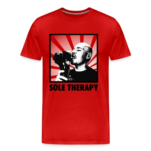 Sole Therapy Tee (Red) - Men's Premium T-Shirt