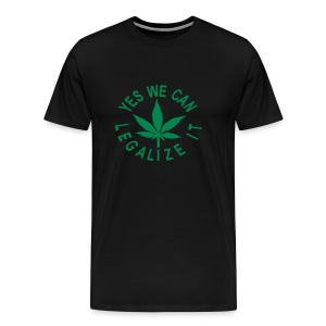 men's 3-4xxl shirt yes we can legalize it - Men's Premium T-Shirt