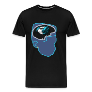 T-Shirts ~ Men's Premium T-Shirt ~ Jordan 11 Gamma Blue Shirt-Money on my Mind XI Tee