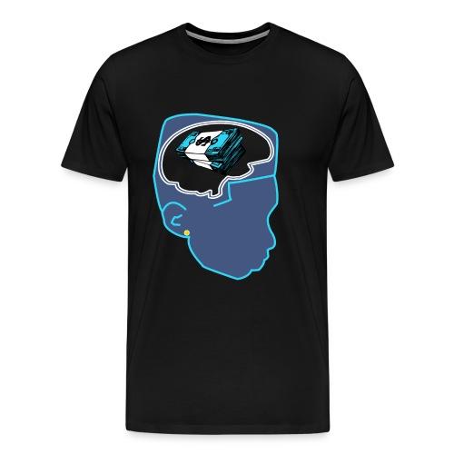 Jordan 11 Gamma Blue Shirt-Money on my Mind XI Tee - Men's Premium T-Shirt