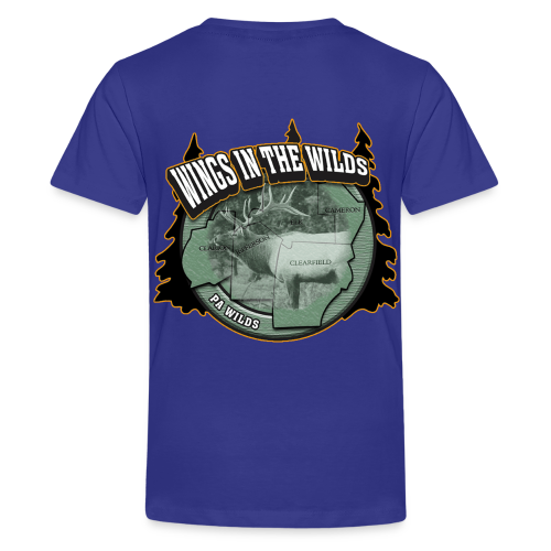 Kid's T- Wings in the Wilds - Kids' Premium T-Shirt