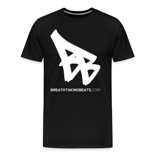 Men Breathtaking Beats Shirt Black (3XL / 4XL Size) - Men's Premium T-Shirt