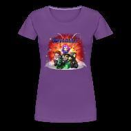 Women's T-Shirts ~ Women's Premium T-Shirt ~ Ladies T Shirt: UNTAMABLE!