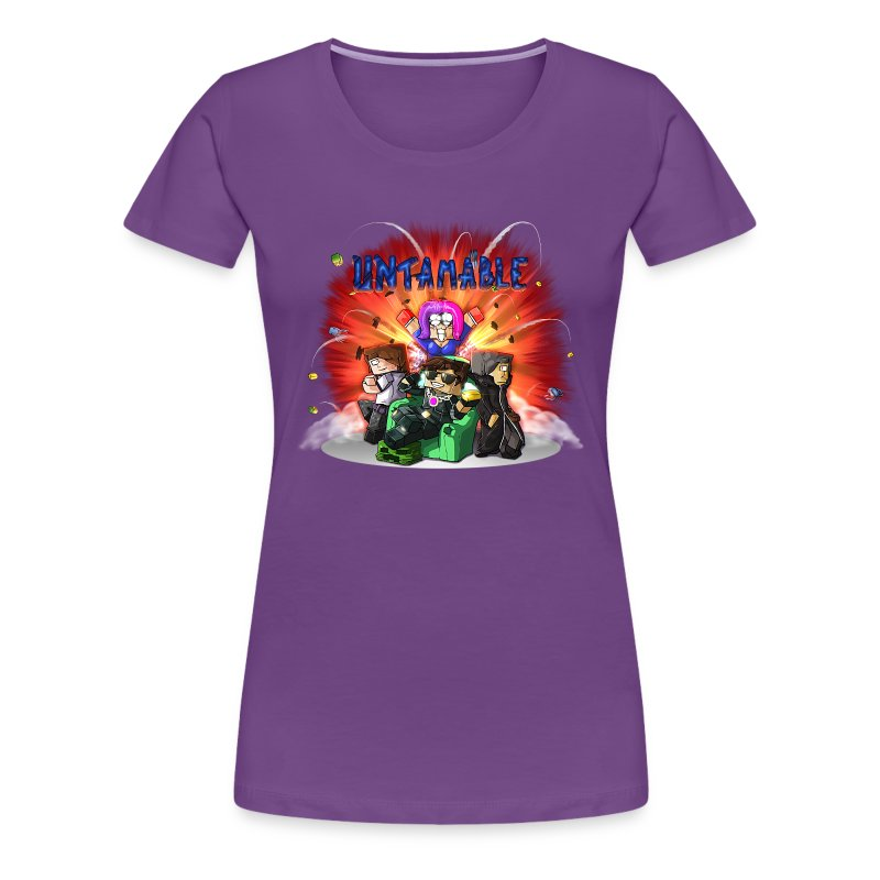 Ladies T Shirt: UNTAMABLE! - Women's Premium T-Shirt