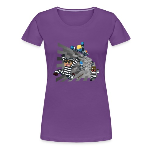 Ladies T Shirt: COPS N ROBBERS! - Women's Premium T-Shirt