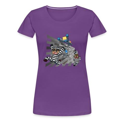 Ladies T Shirt: COPS N ROBBERS! - Women's Premium T-Shirt