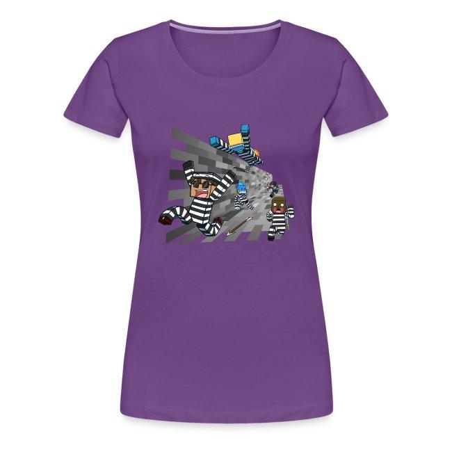 Ladies T Shirt: COPS N ROBBERS!