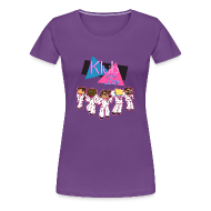 T-Shirts ~ Women's Premium T-Shirt ~ Ladies T Shirt: WELCOME TO KLUB ICE!