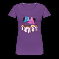 T-Shirts ~ Women's Premium T-Shirt ~ Ladies T Shirt: WELCOME TO KLUB ICE!