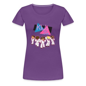 Ladies T Shirt: WELCOME TO KLUB ICE! - Women's Premium T-Shirt
