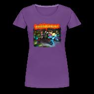 Women's T-Shirts ~ Women's Premium T-Shirt ~ Ladies T Shirt: STARTLED!