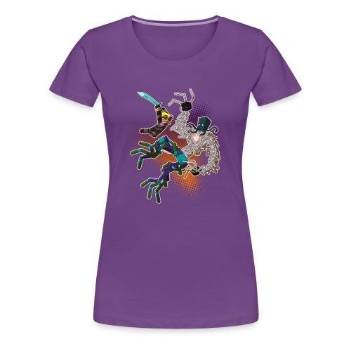 Ladies T Shirt: NEW WORLD! - Women's Premium T-Shirt