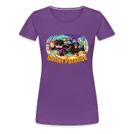 T-Shirts ~ Women's Premium T-Shirt ~ Ladies T Shirt: BUTTER PARADISE!