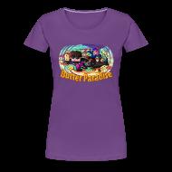 Women's T-Shirts ~ Women's Premium T-Shirt ~ Ladies T Shirt: BUTTER PARADISE!