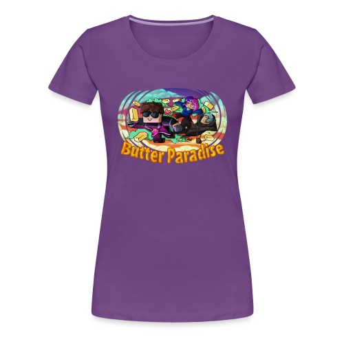 Ladies T Shirt: BUTTER PARADISE! - Women's Premium T-Shirt