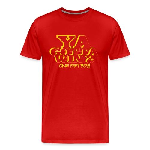 ONE SET BOY - Men's Premium T-Shirt