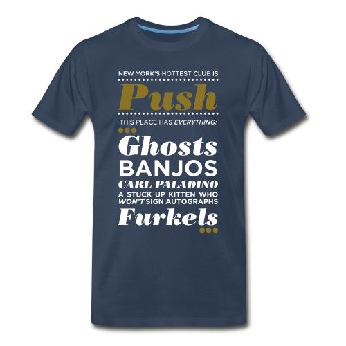 Men's Heavyweight - Metallic Print - Men's Premium T-Shirt