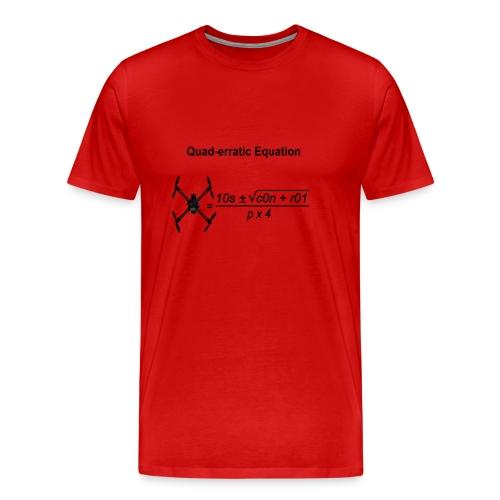 Quad-erratic Equation - Men's Premium T-Shirt