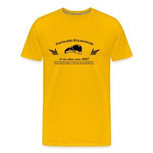 Pistolero Steakhouse Tee - Men's Premium T-Shirt