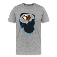T-Shirts ~ Men's Premium T-Shirt ~ Jordan bobcat 10s shirt  Money on my mind -Jordan 10 sneaker tee