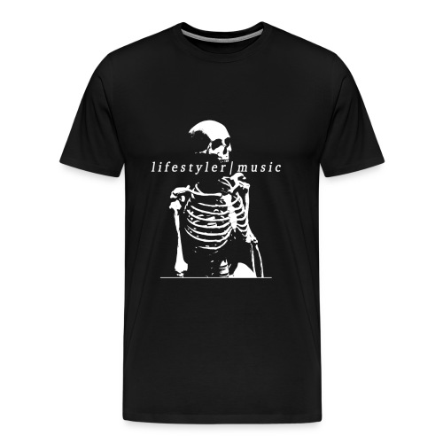 skeleton white - Men's Premium T-Shirt