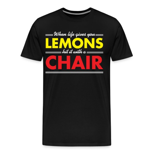 Lemons (Men, 3XL-4XL) - Men's Premium T-Shirt