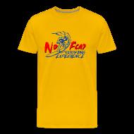 T-Shirts ~ Men's Premium T-Shirt ~  T-Shirt Surfing water sport yellow