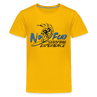 Kids' Shirts ~ Kids' Premium T-Shirt ~ Kids' T-Shirt surfing experience yellow