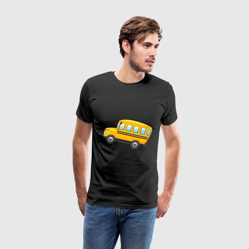 school bus cartoon - Men's Premium T-Shirt