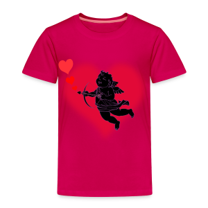 Toddler's Valentine's T-shirt Cupid Baby Valentine's Shirt - Toddler Premium T-Shirt