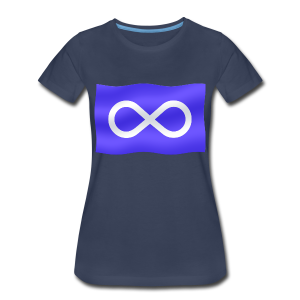 Women's Metis Flag T-shirt Plus Size Women's Metis Shirt - Women's Premium T-Shirt