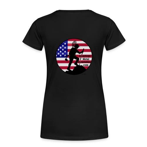 Lady Detectorist back plus size - Women's Premium T-Shirt