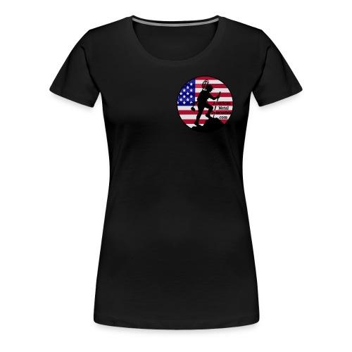 Lady Detectorist front plus size  - Women's Premium T-Shirt