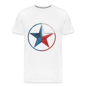 Faded Texas Lone Star - Men's Premium T-Shirt