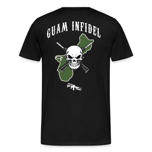 Guam Infidel - Men's Premium T-Shirt
