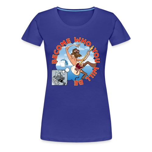 JoCo Cruise Crazy 4 Disney (women's fitted classic) - Women's Premium T-Shirt