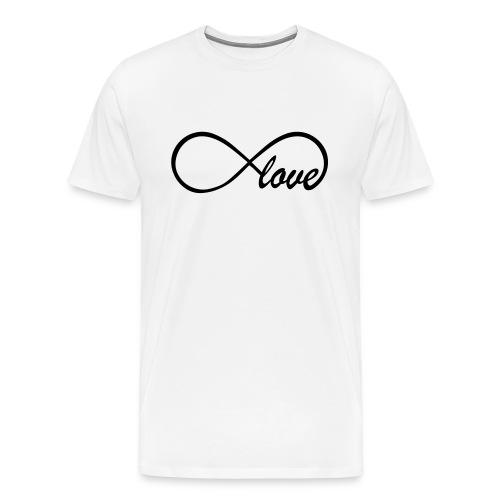 infinity love  - Men's Premium T-Shirt
