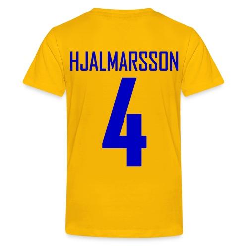 TRE MEATBALL Kids Shirsey - Yellow - Kids' Premium T-Shirt