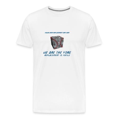 VORG CUBE MEN'S HEAVYWEIGHT T-SHIRT - Men's Premium T-Shirt