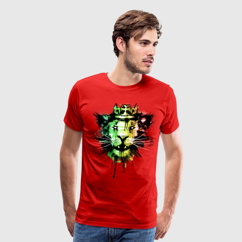 Spirit of the Rasta T-Shirts - Men's Premium T-Shirt