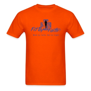 Fit By Faith Logo Short Sleeve - Men's T-Shirt