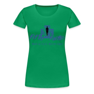 Fit By Faith Logo Short Sleeve - Women's Premium T-Shirt